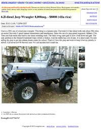 diesel jeep wrangler for 8 000 will this jeep be the torque of the town