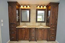 Custom Bathroom Vanity Designs Bath U0026 Vanities Scandia Custom Cabinets