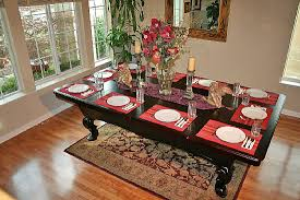 dining table converts to pool table create pool tables dining room table plans converting your