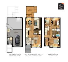 Town House Plans Garage Plans With Living Space House