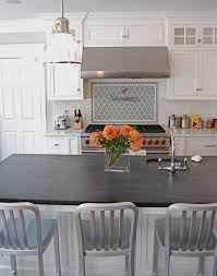 Kitchens With White Cabinets And Black Countertops by Top 25 Best Soapstone Counters Ideas On Pinterest Dark