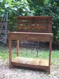 Redwood Potting Bench The Bonus Of Making Diy Garden Bench Is That You Can Fix It Using