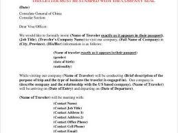 16 letter of invitation for visa sample sample invitation letter