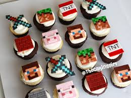 minecraft cupcakes minecraft cupcakes cupcake toppers minecraft