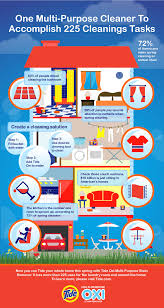making spring cleaning easy with one tool infographic story