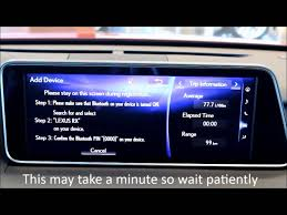 lexus gs infotainment 2016 lexus rx how to connect your phone to the bluetooth youtube