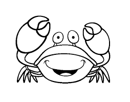 Trend Crab Coloring Pages Gallery Coloring Pag 2695 Unknown Crab Coloring Page