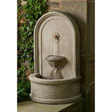 wall outdoor fountains shop outdoor wall water features