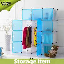 china wholesale foldable storage cabinet bedroom furniture plastic
