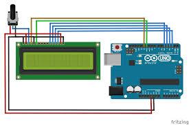 lcd interfacing with arduino tutorial mechatrofice