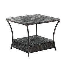 Side Patio Table Idea Patio Umbrella Side Table Of Outdoor Umbrella Side Table