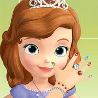 sofia nails salon free game kids