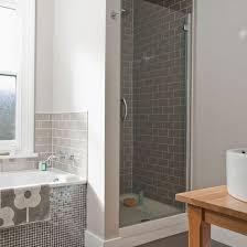 mid century bathroom tile gray traditional mid century style