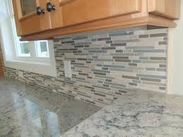 lovely stunning stone and glass backsplash tiles simple kitchen