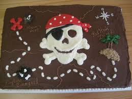 How To Decorate A Birthday Cake At Home Best 25 Pirate Cakes Ideas On Pinterest Pirate Birthday Cake