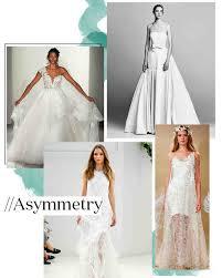 wedding dress trend 2017 top 10 fall wedding dress trends from bridal fashion week martha
