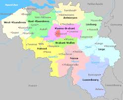 belgium in the map belgica map major tourist attractions maps