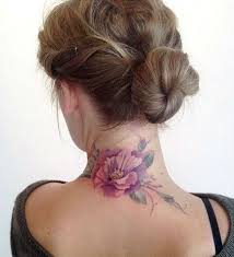 Tattoo On Neck Ideas Best 20 Back Of Neck Tattoo Ideas On Pinterest Neck Tattoos
