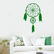 aliexpress com buy bedroom home talisman ornament wall sticker aliexpress com buy bedroom home talisman ornament wall sticker dreamcatcher art design vinyl wall mural native american wall sticker y 802 from reliable