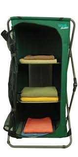 Folding Table With Chair Storage Inside Folding Camp Pantry Intersource Enterprises D09 1120 Folding