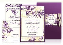 purple and gold wedding invitations purple wedding invitations wedding invites lilac and gold