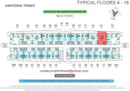 azure floor plan 2nd tower santorini azure urban resort residences