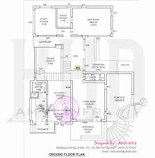 modern 4 bhk house plan in 2800 sq feet kerala home design and