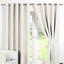 Curtains Ring Top Ring Top Fully Lined Pair Eyelet Ready Made Curtains Luxury