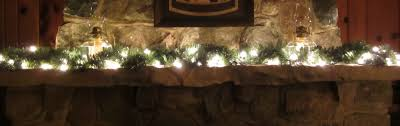 mantle garland with lights garland with lights for mantle lights