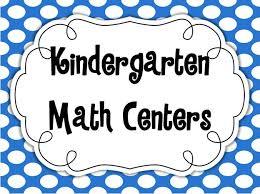center ideas kindergarten math centers minds at work