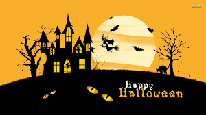happy halloween text art halloween day cliparts clip art library