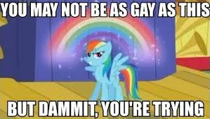 Gay Horse Meme - image 695507 my little pony friendship is magic know your meme