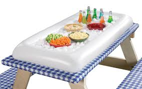 table top cooler for food inflatable serving bar walmart com