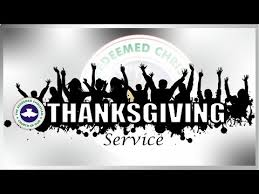 rccg gap november 2017 thanksgiving service