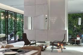 contemporary livingroom a contemporary living room project named eco atrium space living