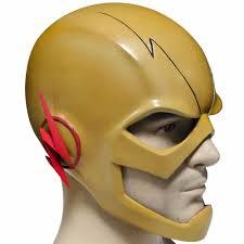 wholesale reverse flash mask halloween masks the flash movie