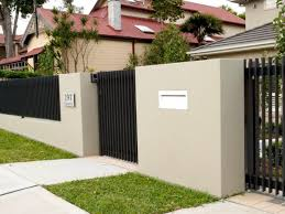 Tips To Build Minimalist Fence Design Home Project  Fence Gate - Home fences designs