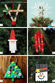 diy popsicle stick ornaments plus a tree topper