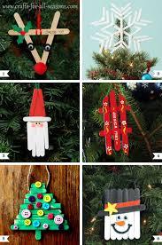 diy popsicle stick ornaments plus a tree topper popsicle