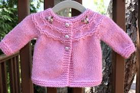 pretty in pink a baby sweater big a a