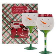christmas glasses get a christmas fix with these christmas wine glasses wine gifted