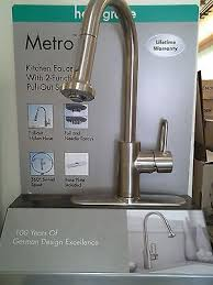 hansgrohe metro kitchen faucet hansgrohe metro e high arc kitchen faucet wow