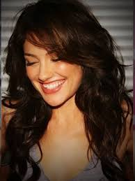 curly layered hairstyles with bangs medium long curly hairstyles