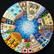 Mosaic Table L Mosaic Table Top Mosaic Kitchen Table Top Mosaic Tabletop Designs