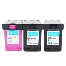 get ations inkmate replacement for hp63xl hp 63xl 2 black 1 color ink cartridge compatible with hp envy 4520