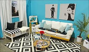 Blue And Black Living Room Decorating Ideas Interiors Fabulous White And Gold Bedroom White And Gold