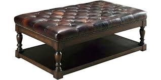 square leather coffee table square leather coffee table s square leather coffee table ottoman
