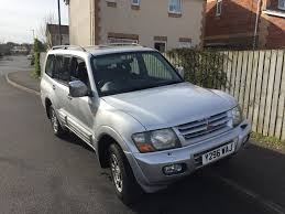 2001 mitsubishi shogun 3 2 did equippe lwb auto 7 seater 8 months