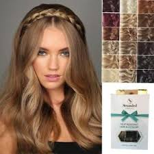 plait headband stranded hair chunky plait braided headband hairpiece unboxed