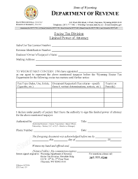 Irs Gov Power Of Attorney by Download Wyoming Tax Power Of Attorney Form 2848 Wikidownload
